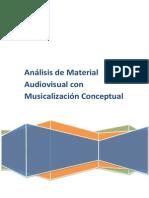 Análisis de Material Audiovisual Con Musicalización Conceptuales