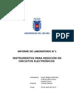 Informe 1 Instrumentos Para Medicion en Circuitos Electronicos