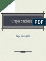 Grupos e Individuos