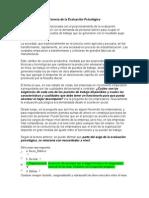 Act 1_Revisión de Presaberes Evaluación Psicológica