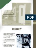 Lifts & Escalators