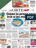 Periódico Norte edición del día 1 de septiembre de 2014