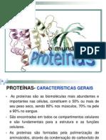 1a Aula - Proteínas - 2014