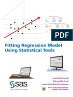Fitting Regression Model Using Statistical Tools