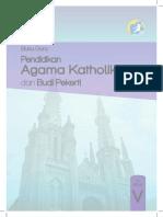 Pendidikan Agama Katolik dan Budi Pekerti, Buku Guru, Kelas 5 SD