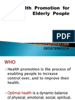 24-05 Health Promotion for Elderly People