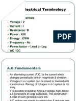 Basics of Electricals-270213