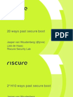 10 Ways Past Secure Boot v1.0 Jvw Shakacon