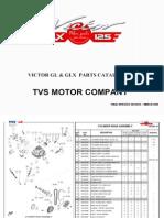 Victor  Spare Parts Catalogue
