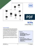 Scr 1 70 Amperes Datasheet