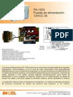 Manual FA1203