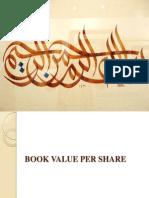 Book Value Per Share Presentation