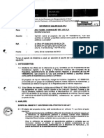 Informe Ministerio Agricultura