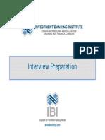 Interview Preparation Presentation