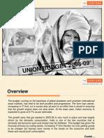 Union Budget 2008-09 - Ventura Budget Special