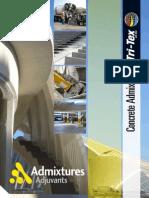 Admixtures Brochure E