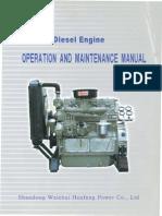 Huafengdongli 495 4100 Series Operationmanual