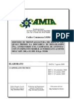 Bellolampo capitolato Tritovagliatura da amianet scad 29_12_09 Capitolato