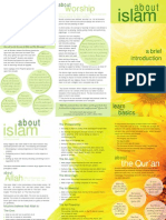 01 Pamphlet - About Islam