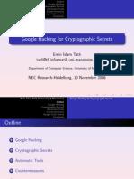 Ghack Crypto Presentation NEC