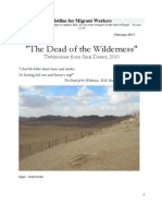 """""""The Dead of the Wilderness"""""""