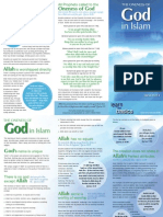 05 Pamphlet - Oneness of God (Tawheed)