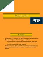 9 Adhesives