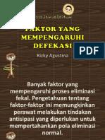 4. Faktor defekasi