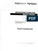 King AIR C90GT Pilot Checklist