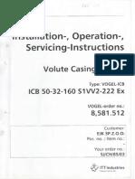 Volute Casing Pumps Installation Operation Servicing2