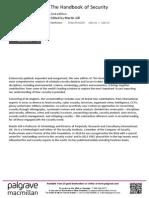 The Handbook of Security Flyer