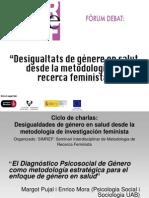 """""""El Diagnóstico Psicosocial de Género como metodología estratégica para el enfoque de género en salud."""""""
