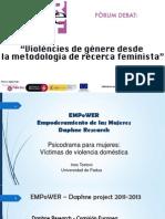"""""""Evaluación del uso de los psicodramas en procesos de empoderamiento de mujeres sobrevivientes de violencias de género."""""""