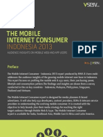 Mobile Internet Consumer Indonesia