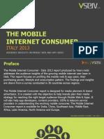 Mobile Internet Consumer Italy