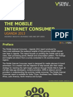 Mobile Internet Consumer Uganda