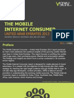 Mobile Internet Consumer United Arab Emirates