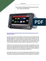 7 Polegadas DVD Carro Sistema de Navegação GPS Para Seat Leon Com Cartâo GPS MP5 iPod