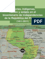Historias Indigenas Nacion y Estado en El Bicentenario
