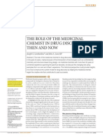 the Role of the Medicinal chemist in drug discovery-then and now