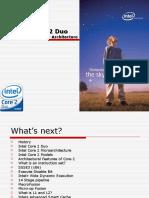 Intel Core 2 Duo Desktop Processor Architecture