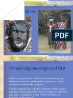 Primal Religions