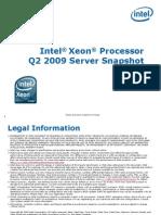 Intel Server Roadmap