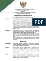 Peraturan Bnsp No 1 Bnsp III 2014