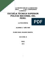 Monografia Sobre Psicopatia