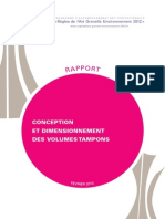 Rapport Rage Conception Volumes Tampons 2013 02