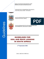 Guidelines for Soil Profiling