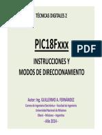 PIC18F_Instrucciones y Modos de Direcc