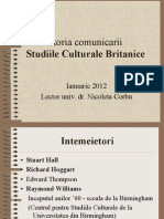 Studiile Culturale Britanice