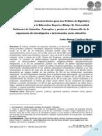 PROGRAMA MARCO POLITICA DE EQUIDAD - CABALLERO MERLO - PORTALGUARANI